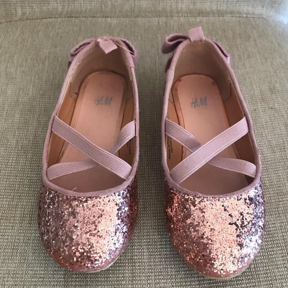 H\u0026M Shoes | Hm Glitter Toddler Girl
